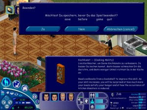 (Sims™ Screenshots excerpted from The Sims, Copyright 2000 Electronic Arts Inc.)